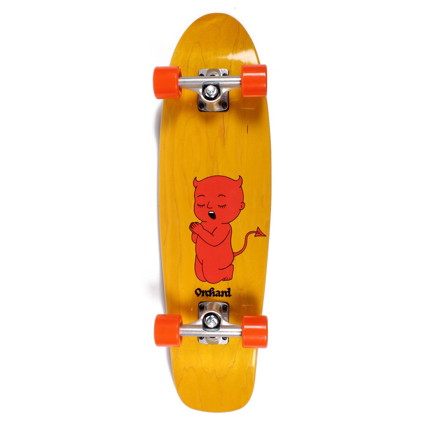 Orchard Thoughts & Prayers Mini Cruiser Complete Yellow