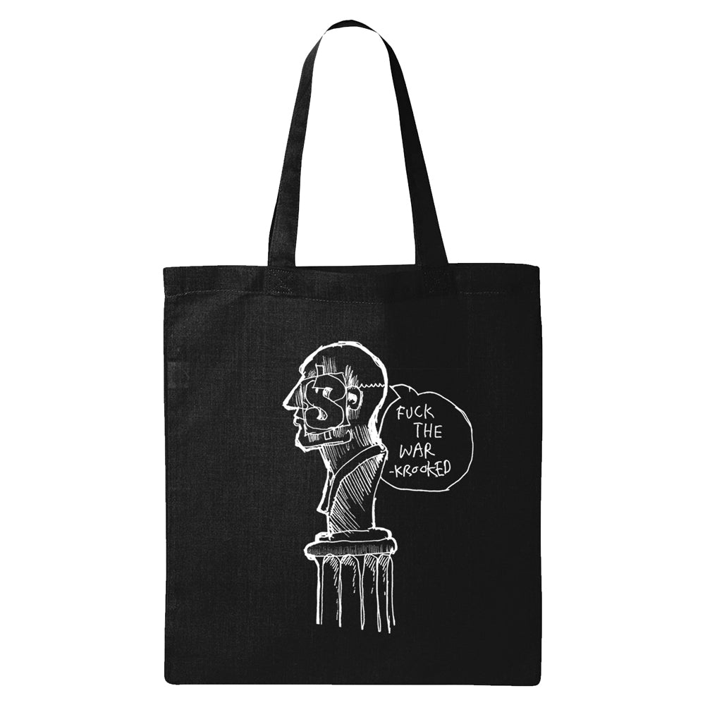 Krooked FTW Black Tote Bag
