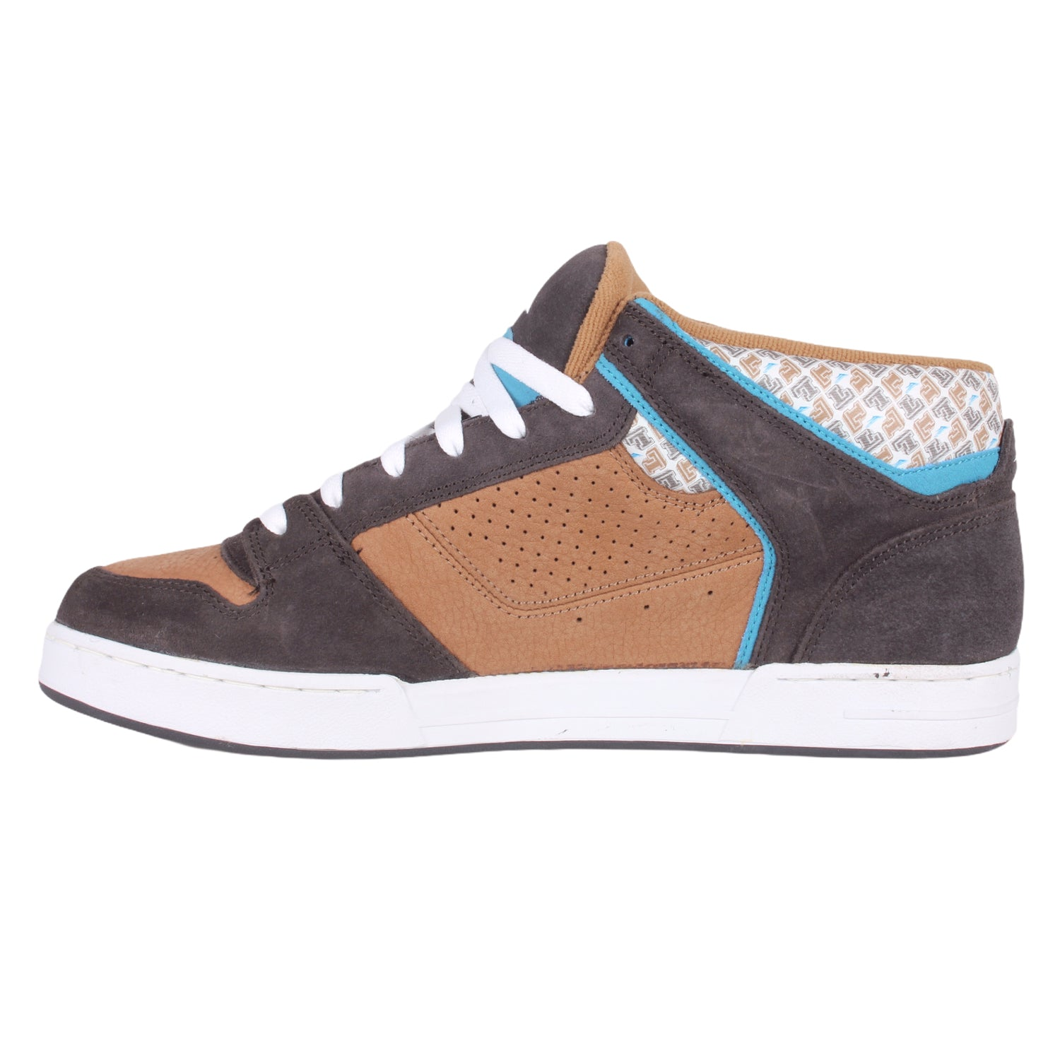 Overripe Lakai Carroll 4 Mid LTD Brown Print (2006)