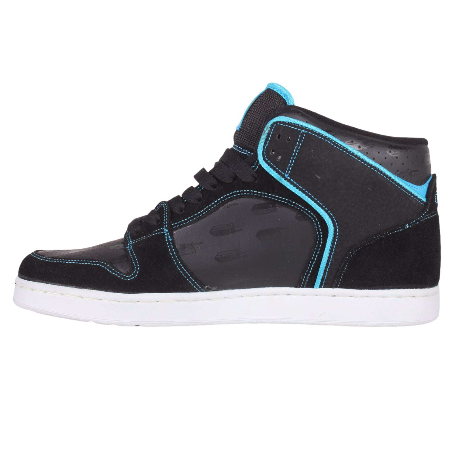 Overripe Lakai Telford French Connection JB Gillet Black/Blue Suede (2007)