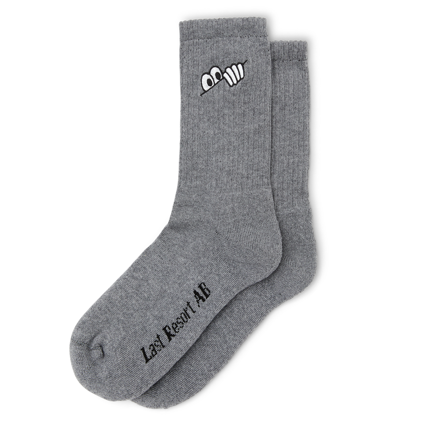 Last Resort AB Eyes Socks Grey Melange