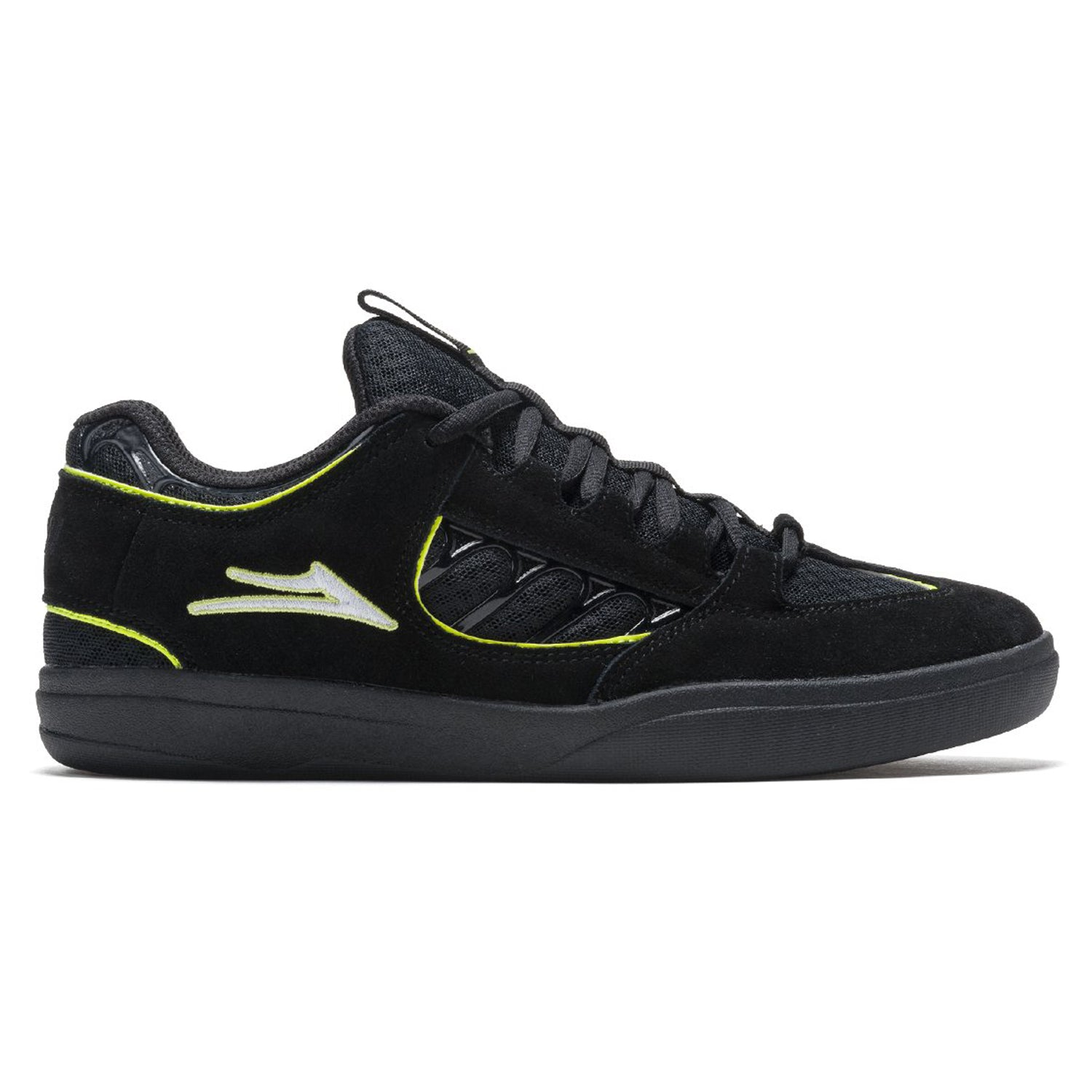 Lakai Carroll Black/Neon Green