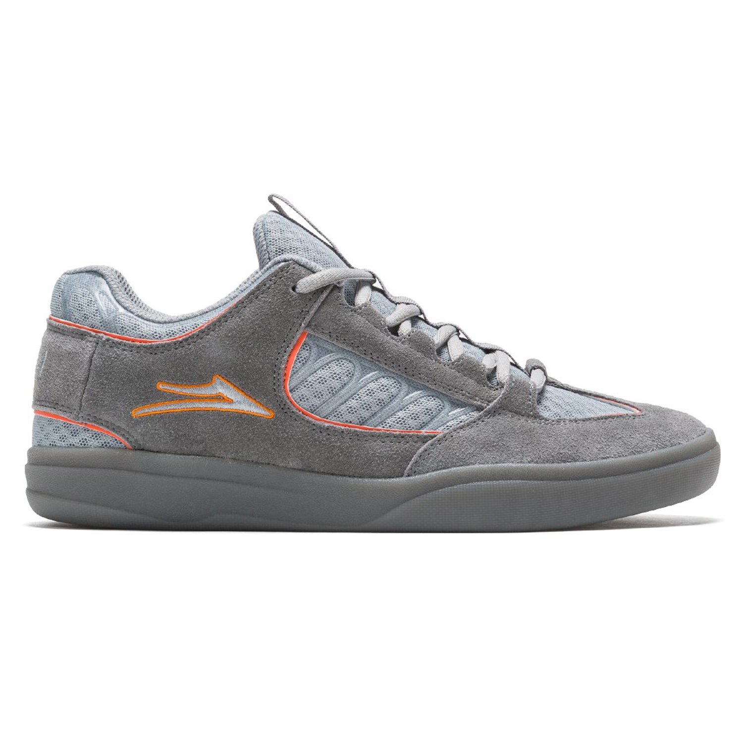 Lakai Carroll Grey/Orange Suede