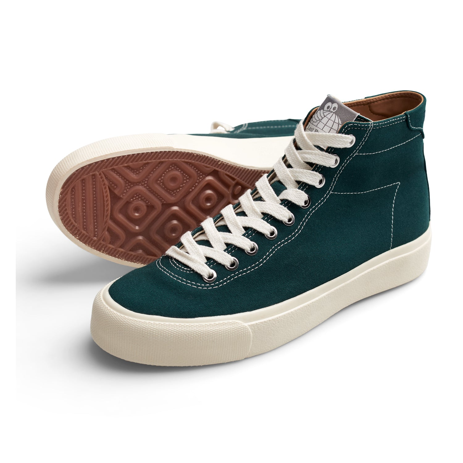 Last Resort AB VM001 Canvas Hi Emerald/White