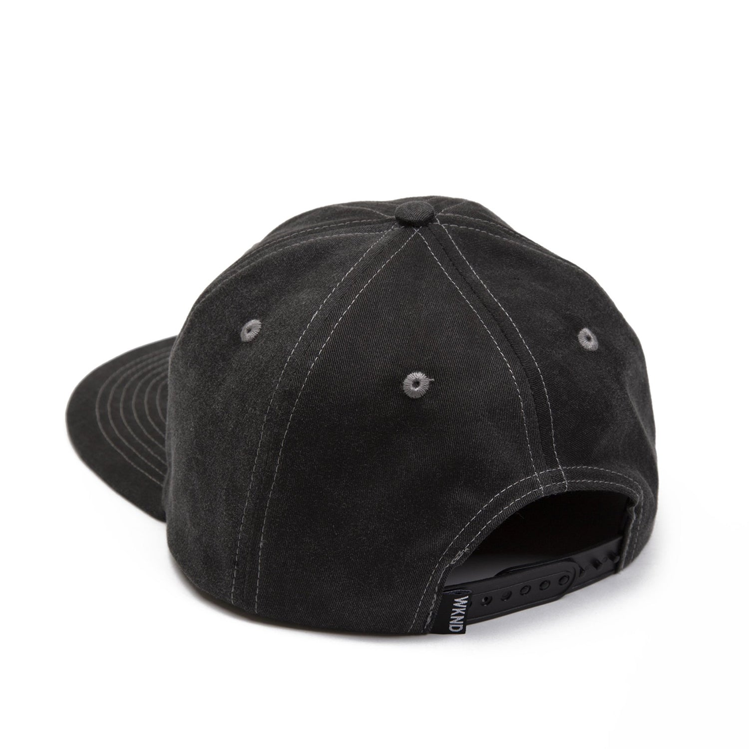 WKND Hat Lunch Money 6 Panel Black