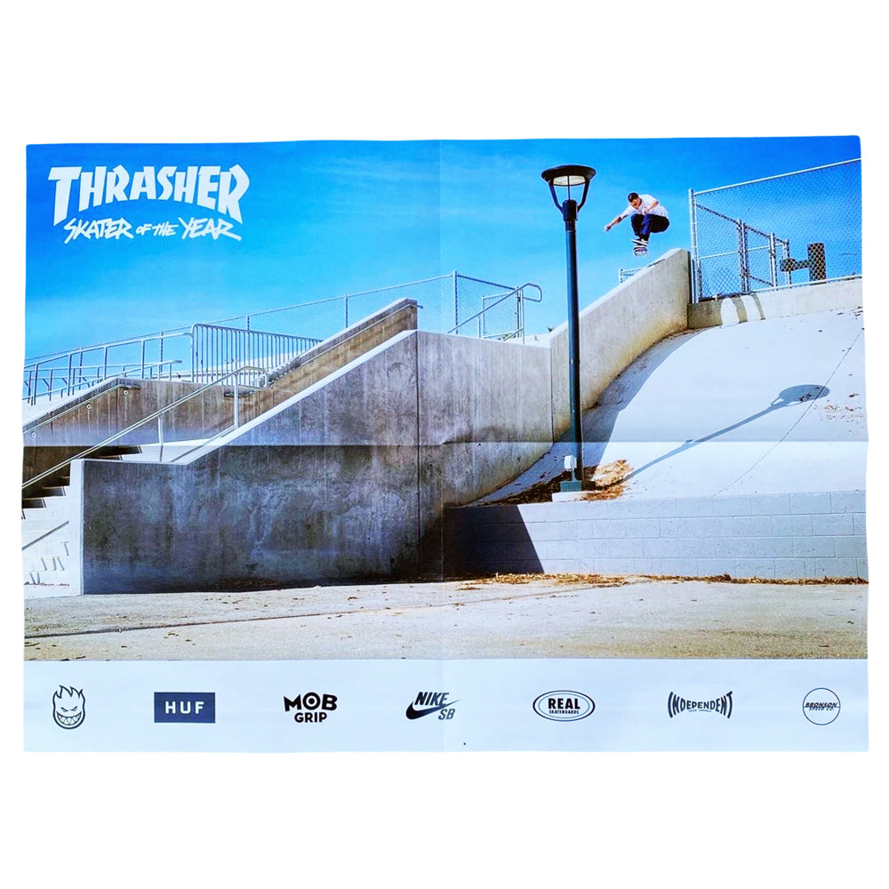 Thrasher Magazine May 2021 (Skater Of The Year)