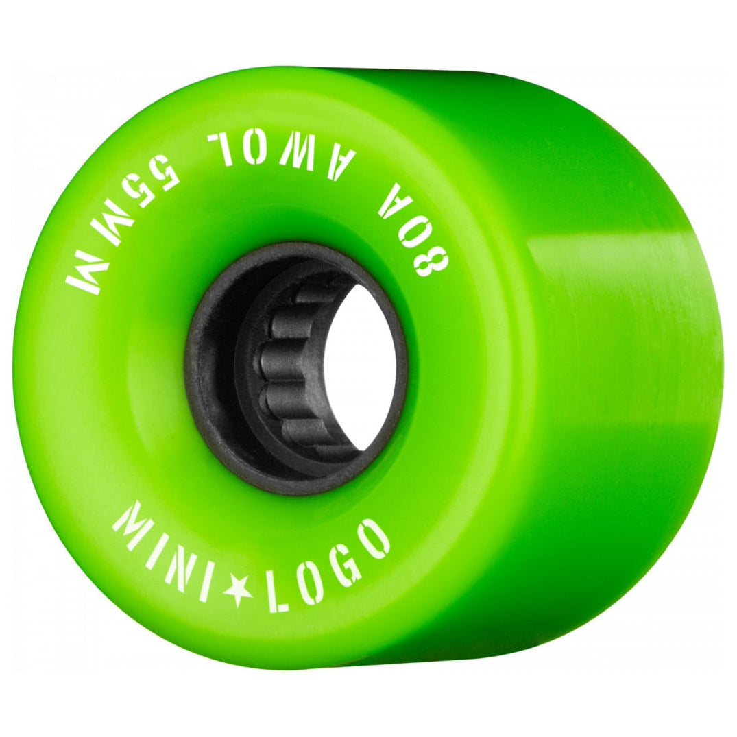 Mini Logo AWOL Green Wheels 80A 55mm