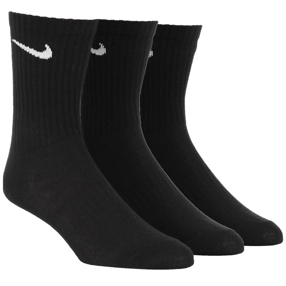 Nike SB Socks Everyday Crew Socks (3 Pack) Black
