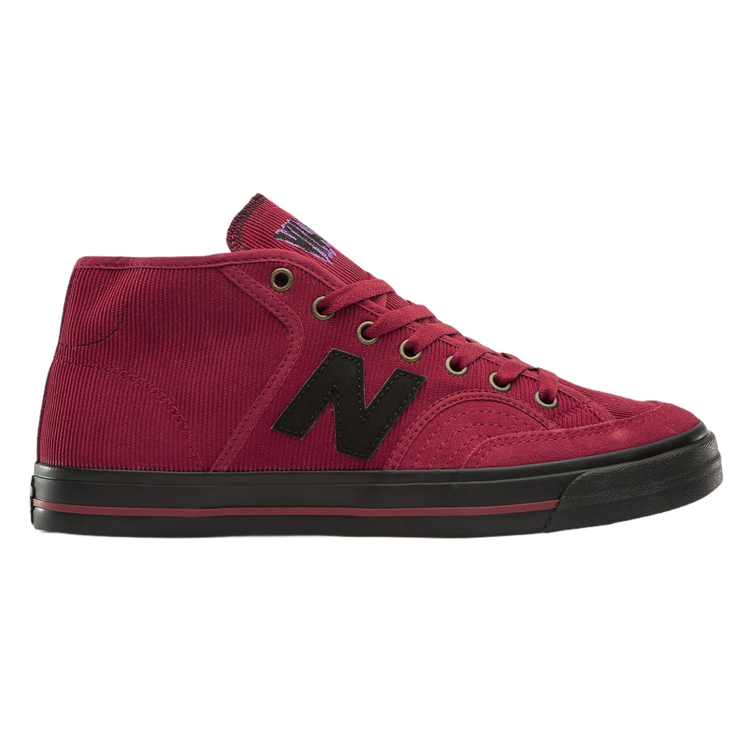New Balance Numeric 213BAT Burgundy/Black Villani