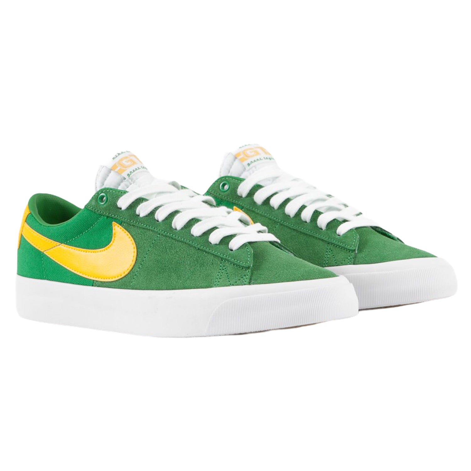 Nike SB Blazer Low Pro GT Lucky Green/University Gold