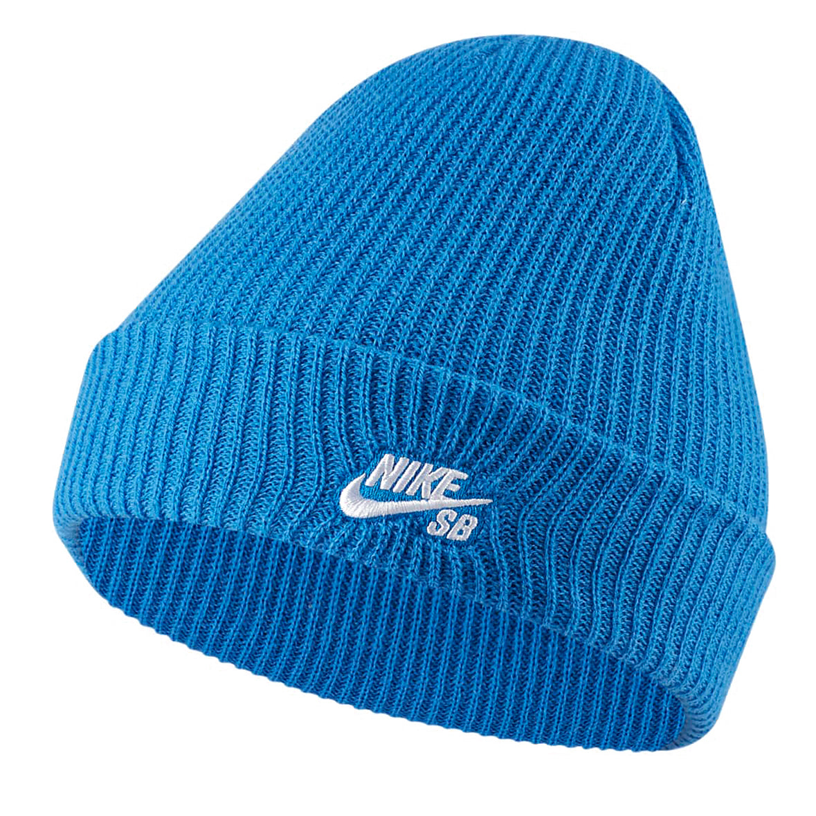 Nike SB Fisherman Beanie Signal Blue/White
