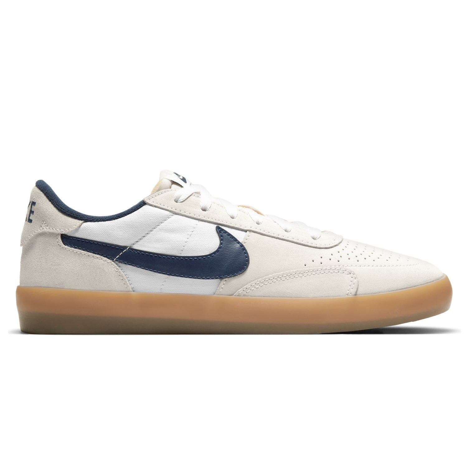 Nike SB Heritage Vulc Summit White/Gum Light Brown/Navy