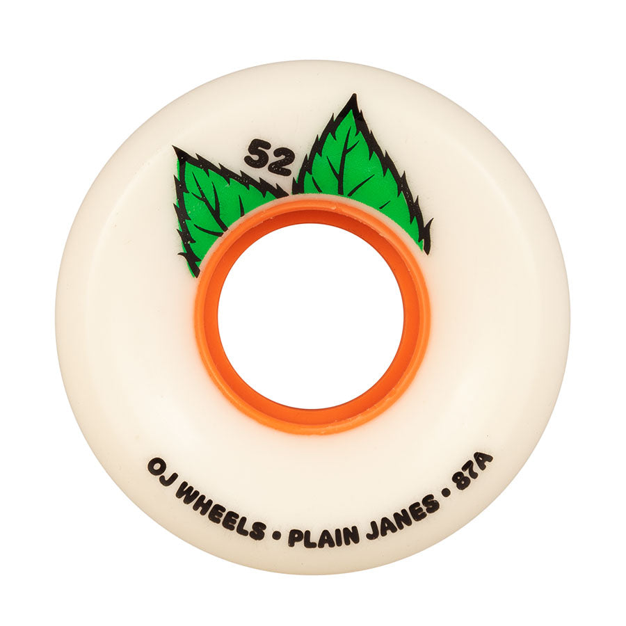 Oj Wheels Keyframe Plain Jane 52mm 87a Hybrid