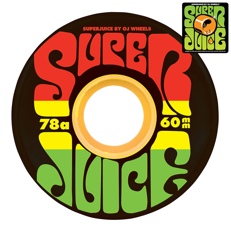 OJ Wheels Super Juice Jamaica 78A 60mm