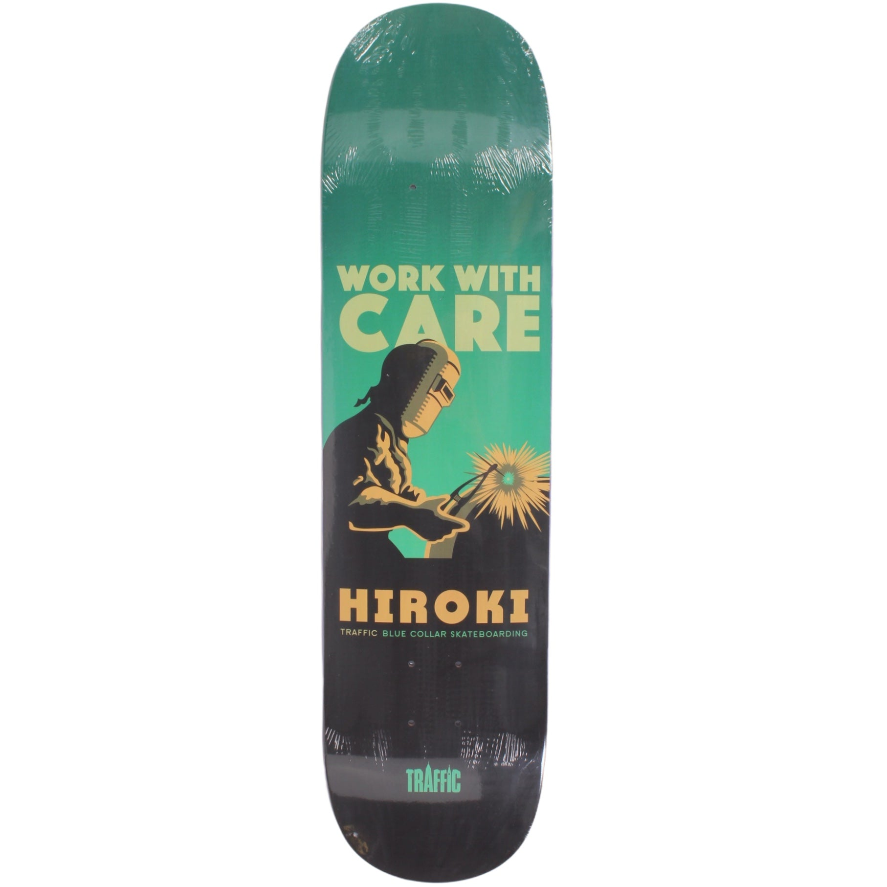 Traffic Hiroki Working Class Deck 8.0""