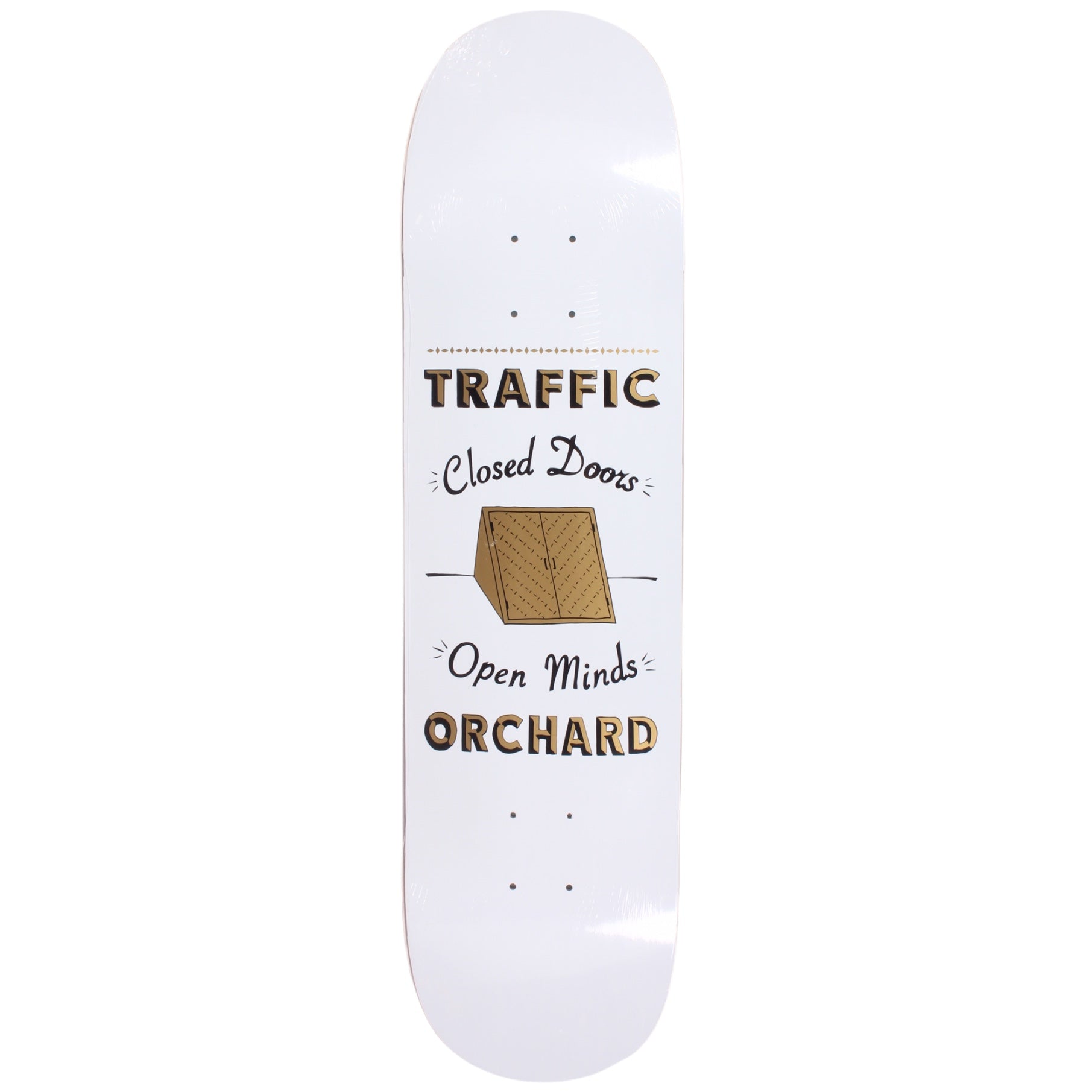 Traffic X Orchard Skrelly Collab Deck White 8.3""