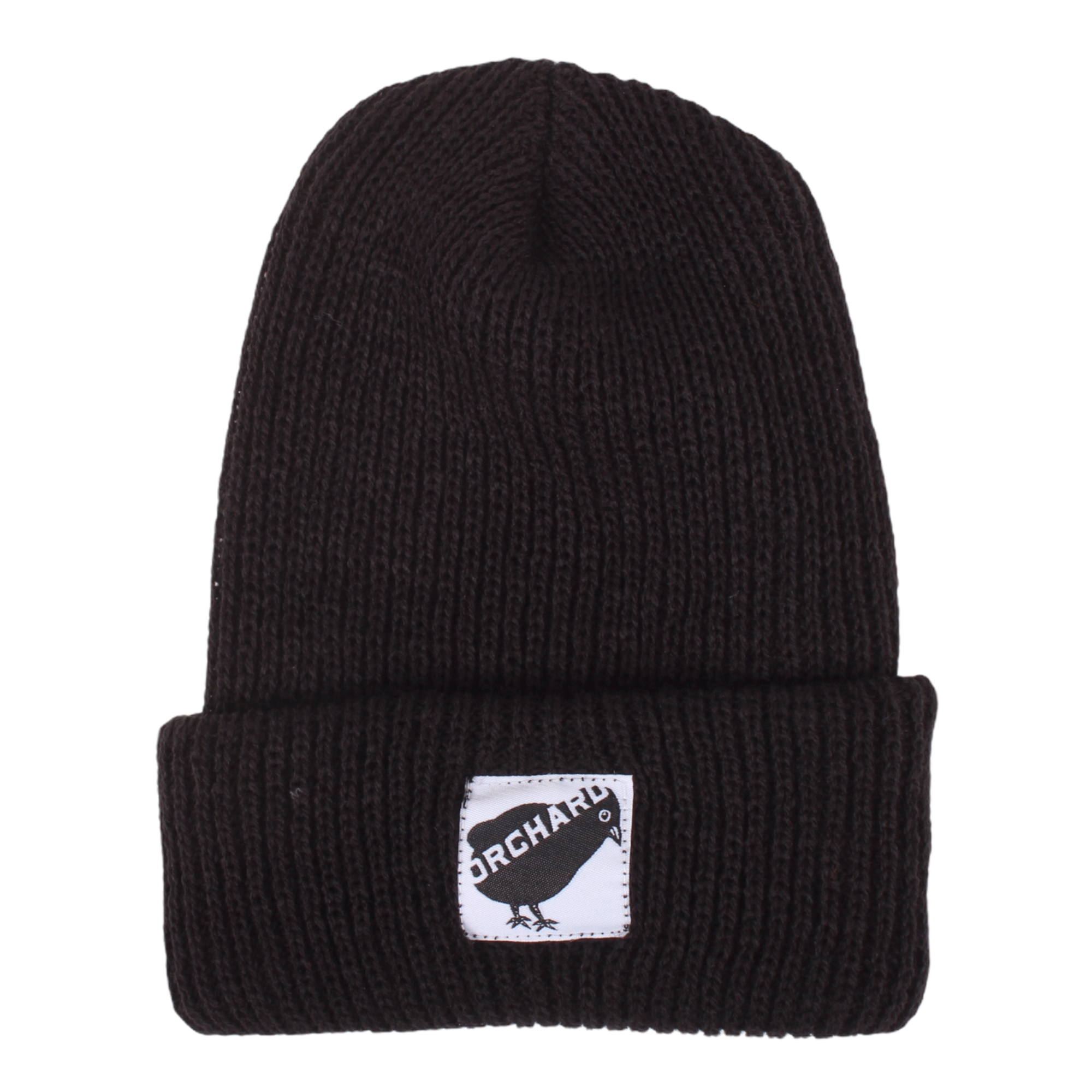 Orchard Black Bird Watch Beanie Black