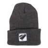 Orchard Black Bird Watch Beanie Charcoal