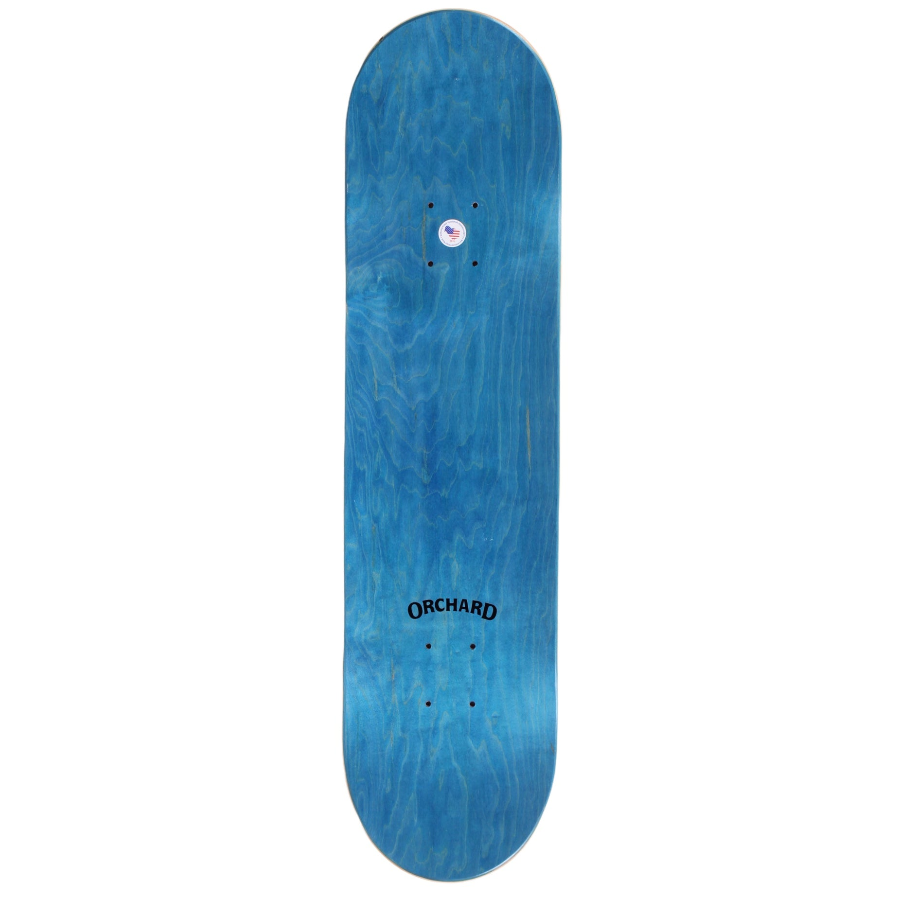 "Orchard Bird Logo Deck Green/White 8.0"" M1"