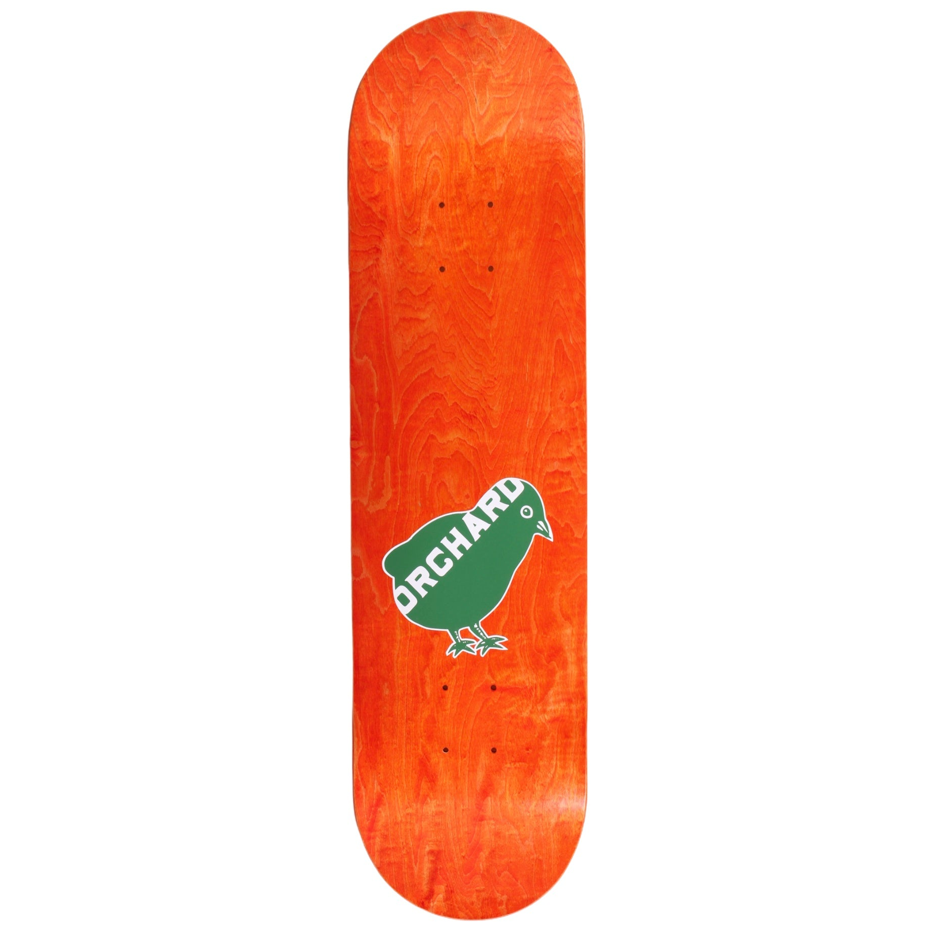 "Orchard Bird Logo Deck Green/White 8.25"" M1"