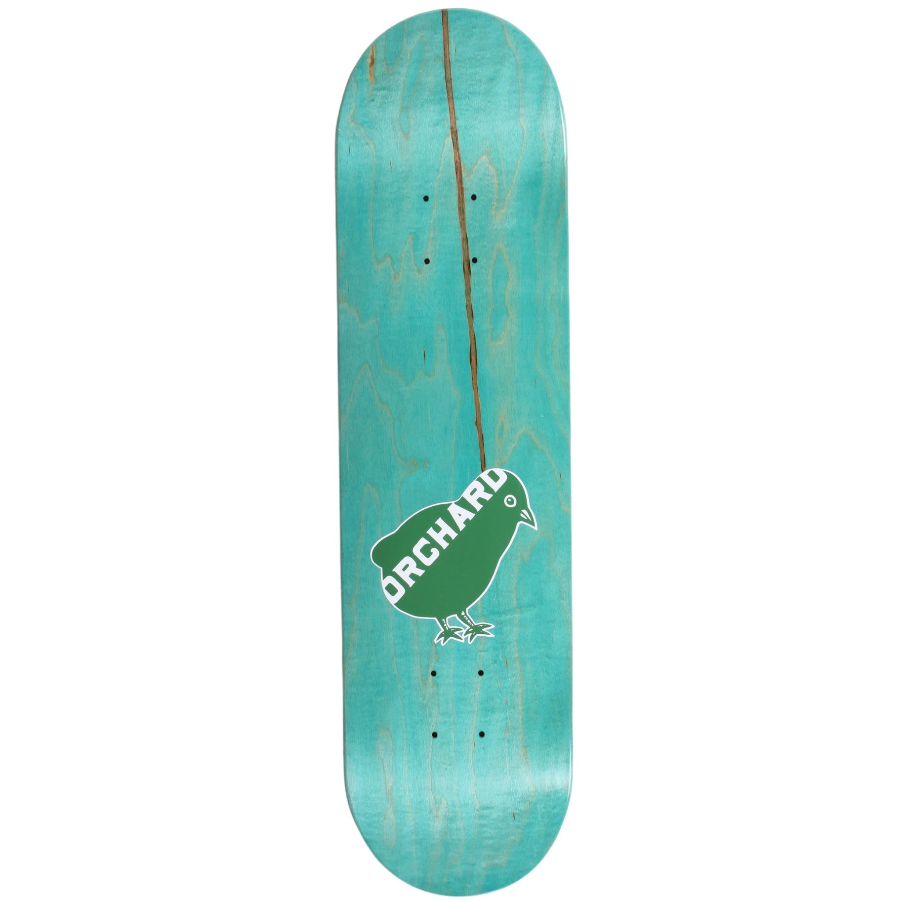 "Orchard Bird Logo Deck Green/White 8.1"" M2"