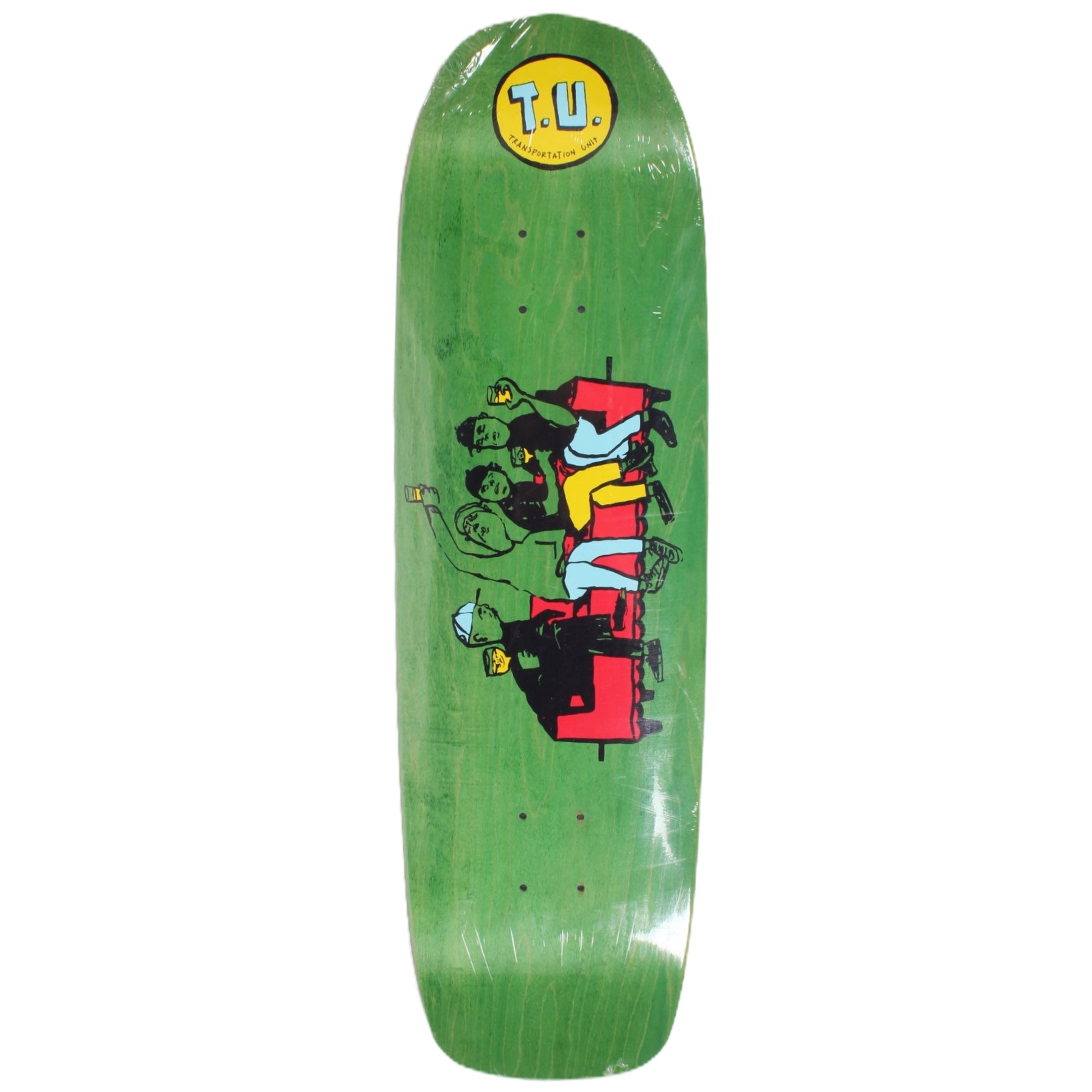 Transportation Unit Party Bois 2 Deck Diamond Nose Shape 8.875