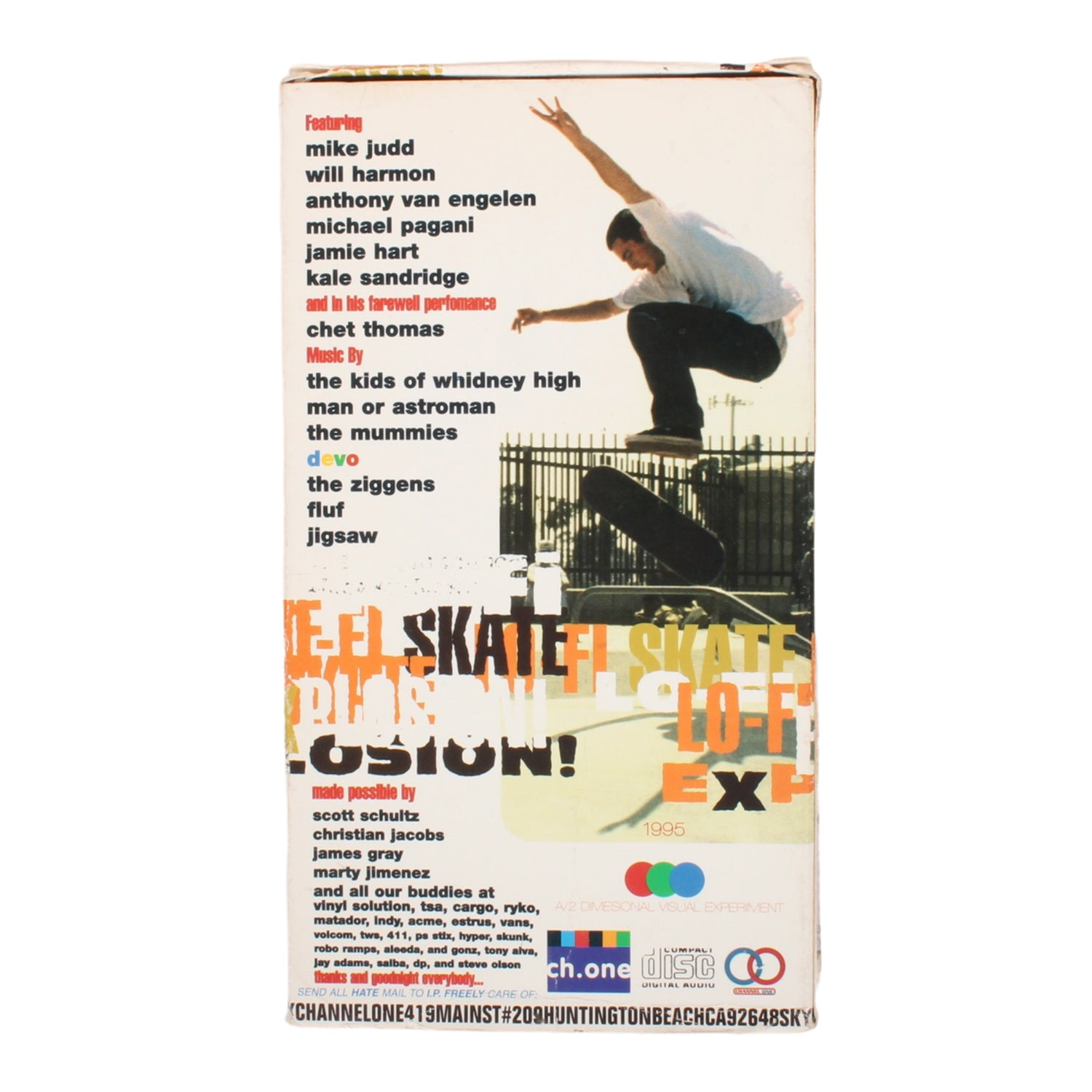 Channel One Lo Fi Skate Explosion VHS (1995)