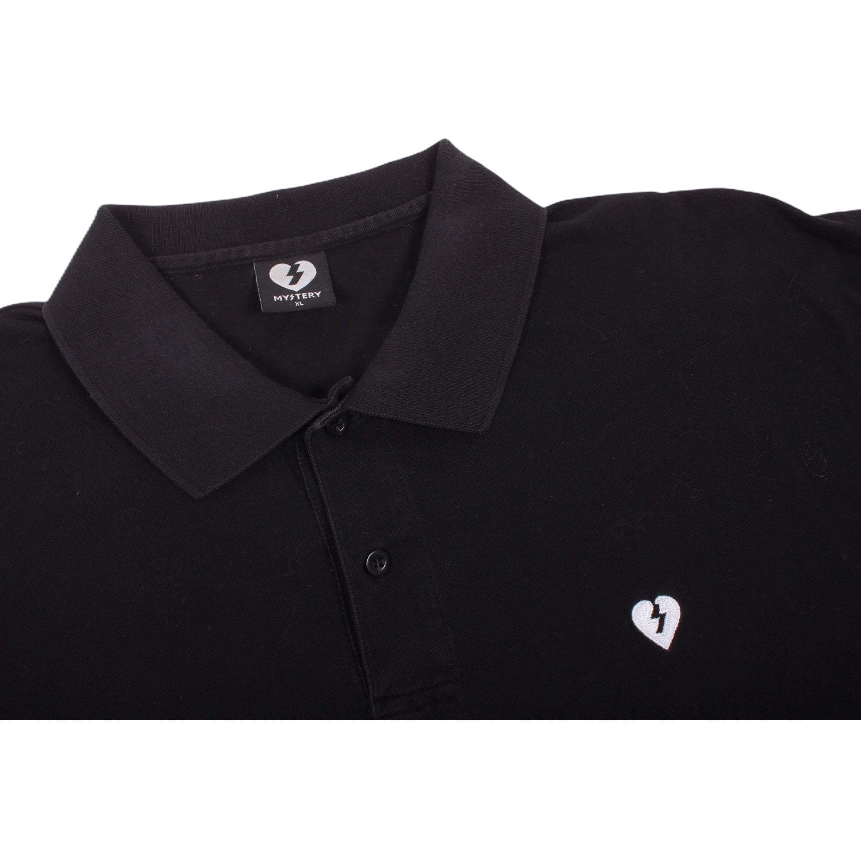 Overripe Mystery Polo Shirt Black XL (2007)
