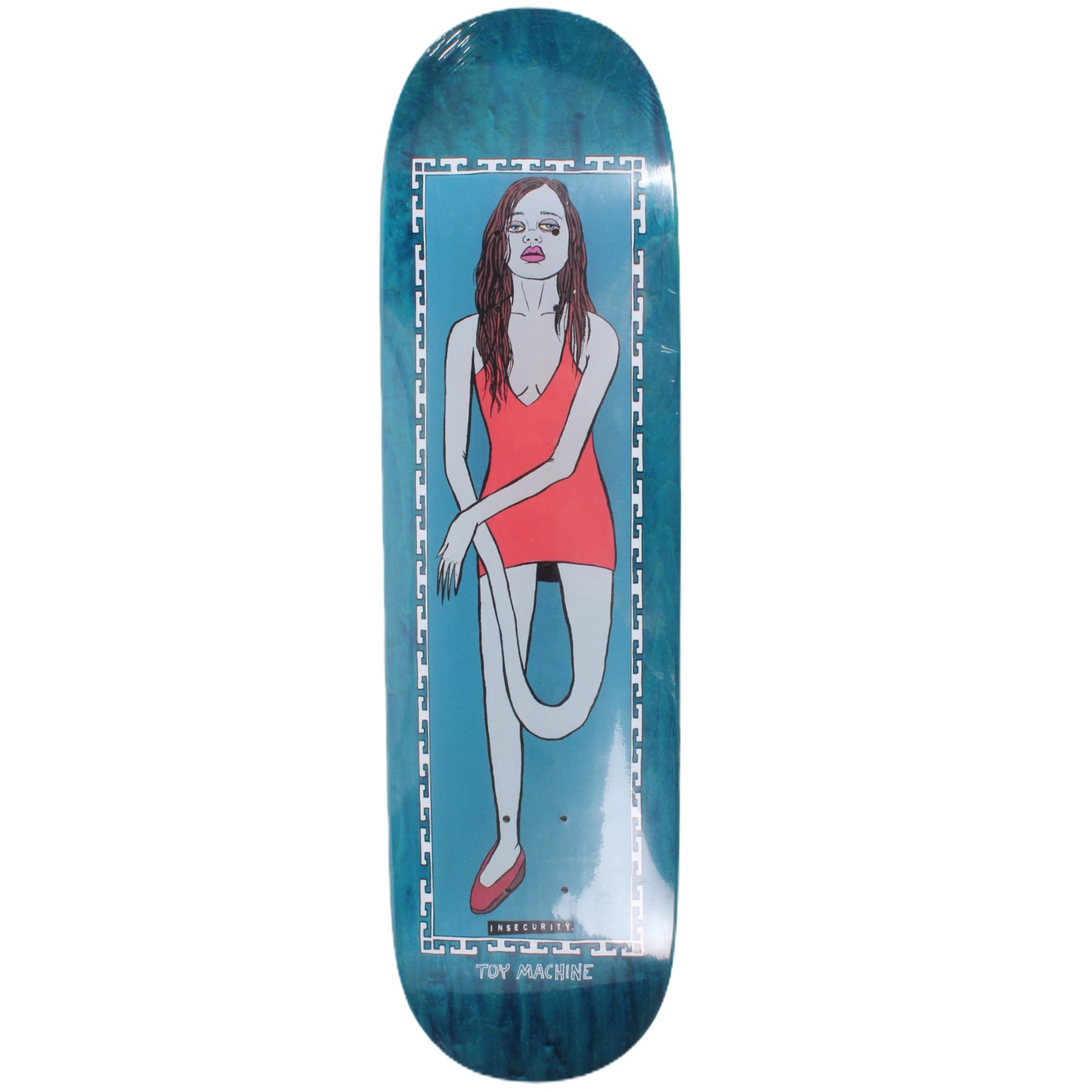 "Overripe Toy Machine Deck Ed Templeton Insecurity 8.5"" 2016"