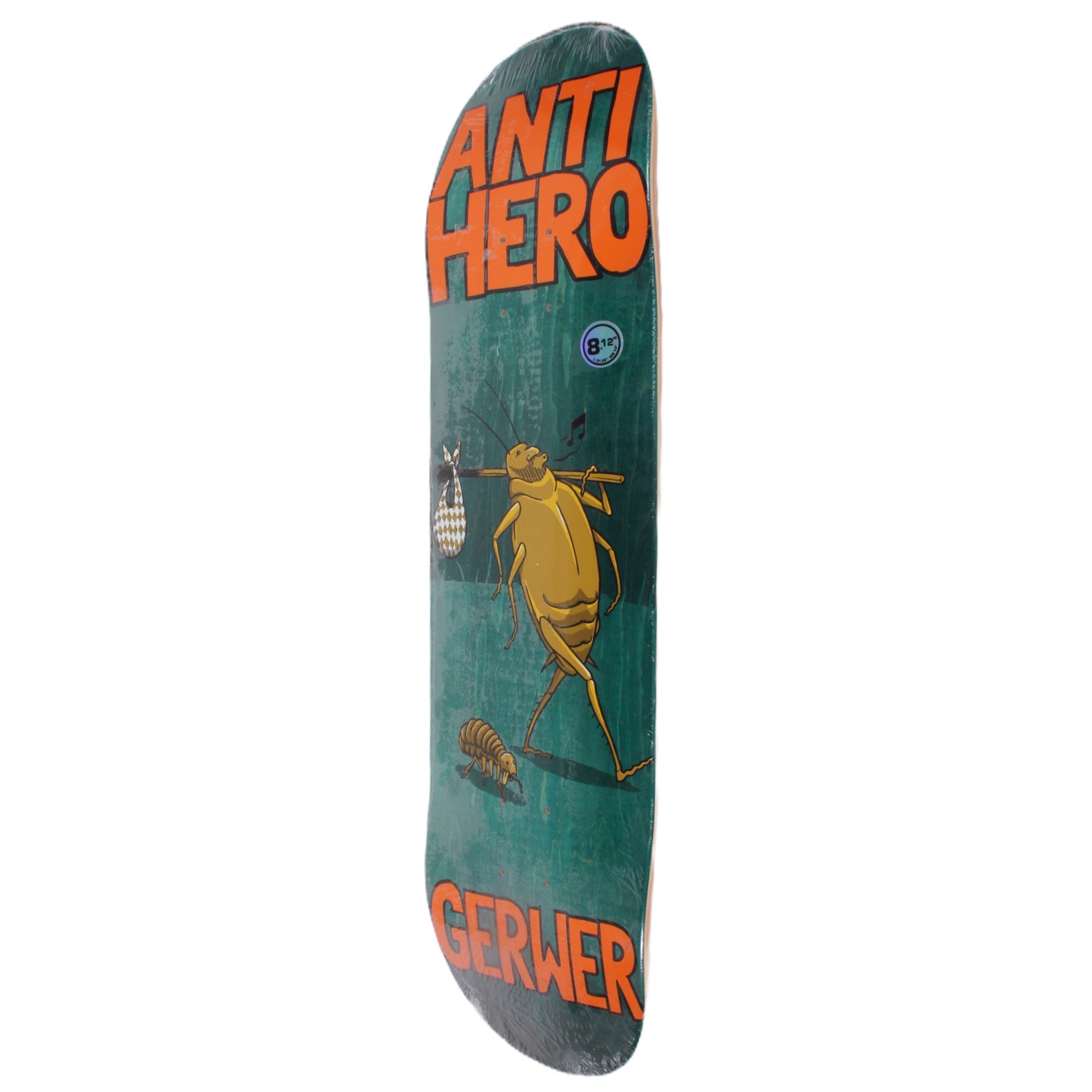 Overripe Anti Hero Deck Roaches Gerwer 2015