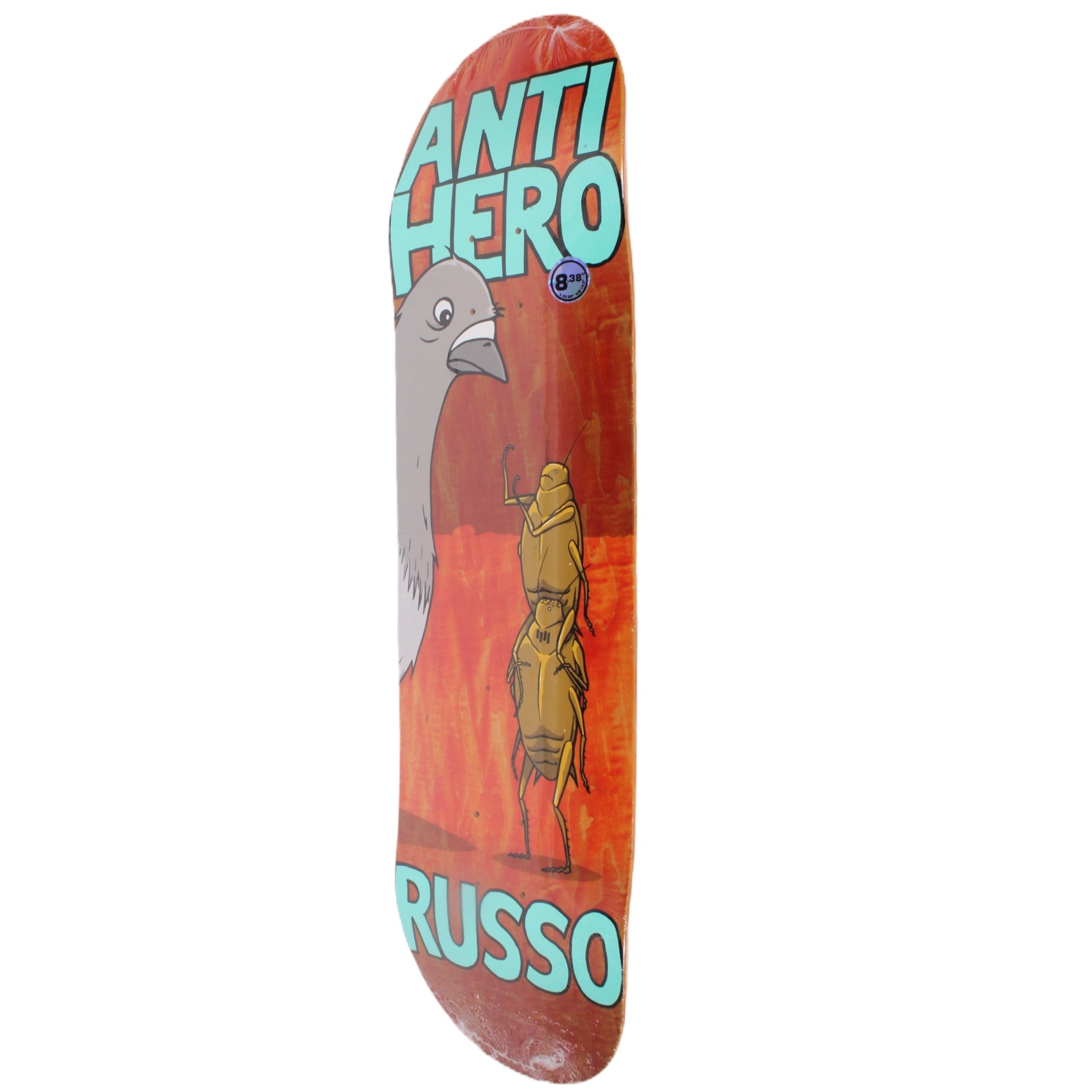 Overripe Anti Hero Deck Roaches Russo 2105