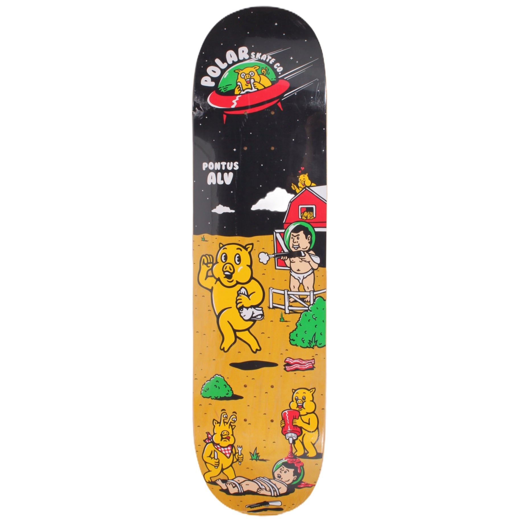 Overripe Polar Deck Alv Space Pigs 2015