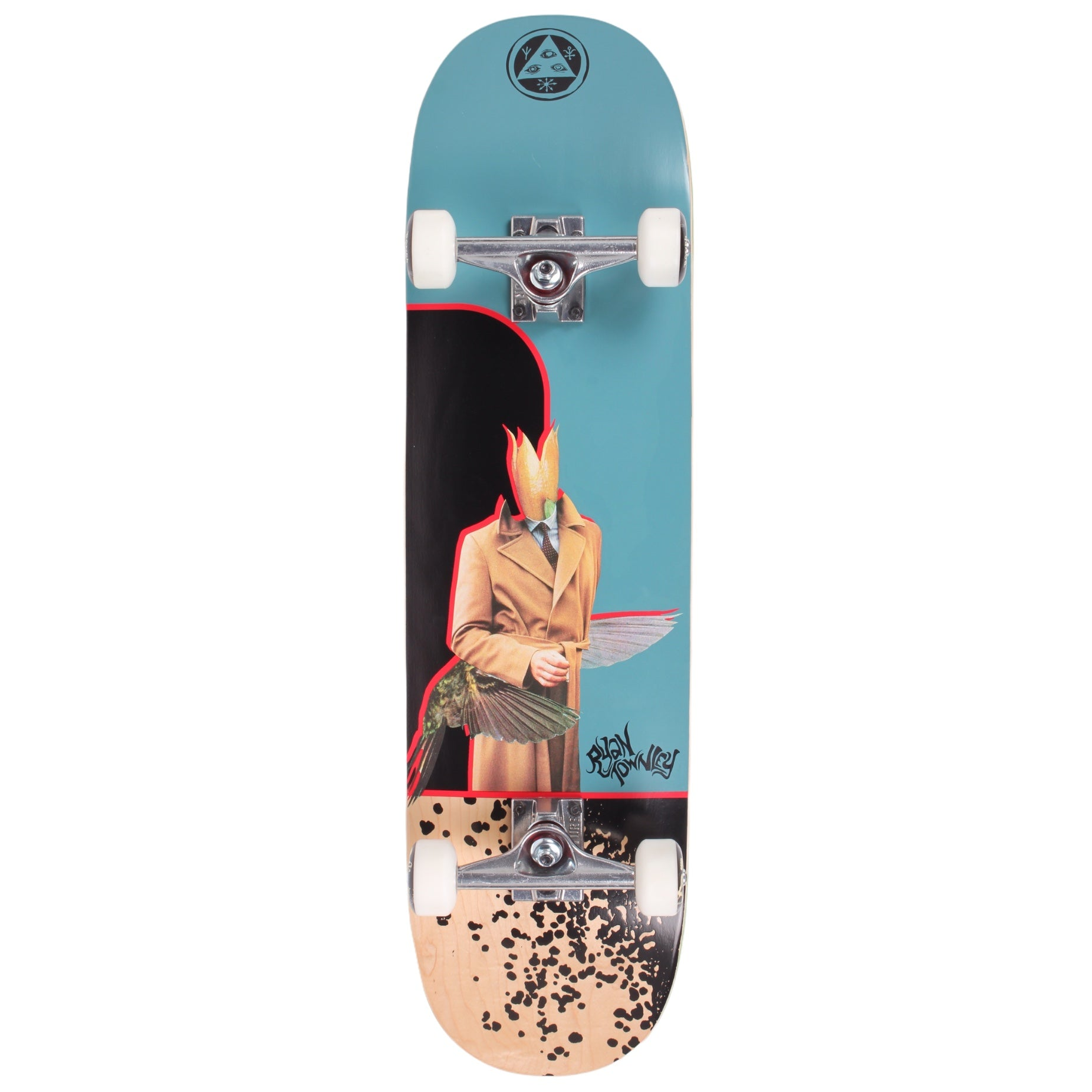 Welcome Humingbird Standard Complete Skateboard 8.5 (With Free Skate Tool)