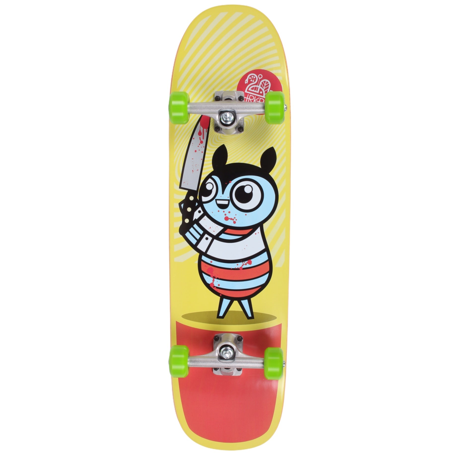 "Darkroom Murderer Bug Hybrid Complete Skateboard 8.75"" Shaped"