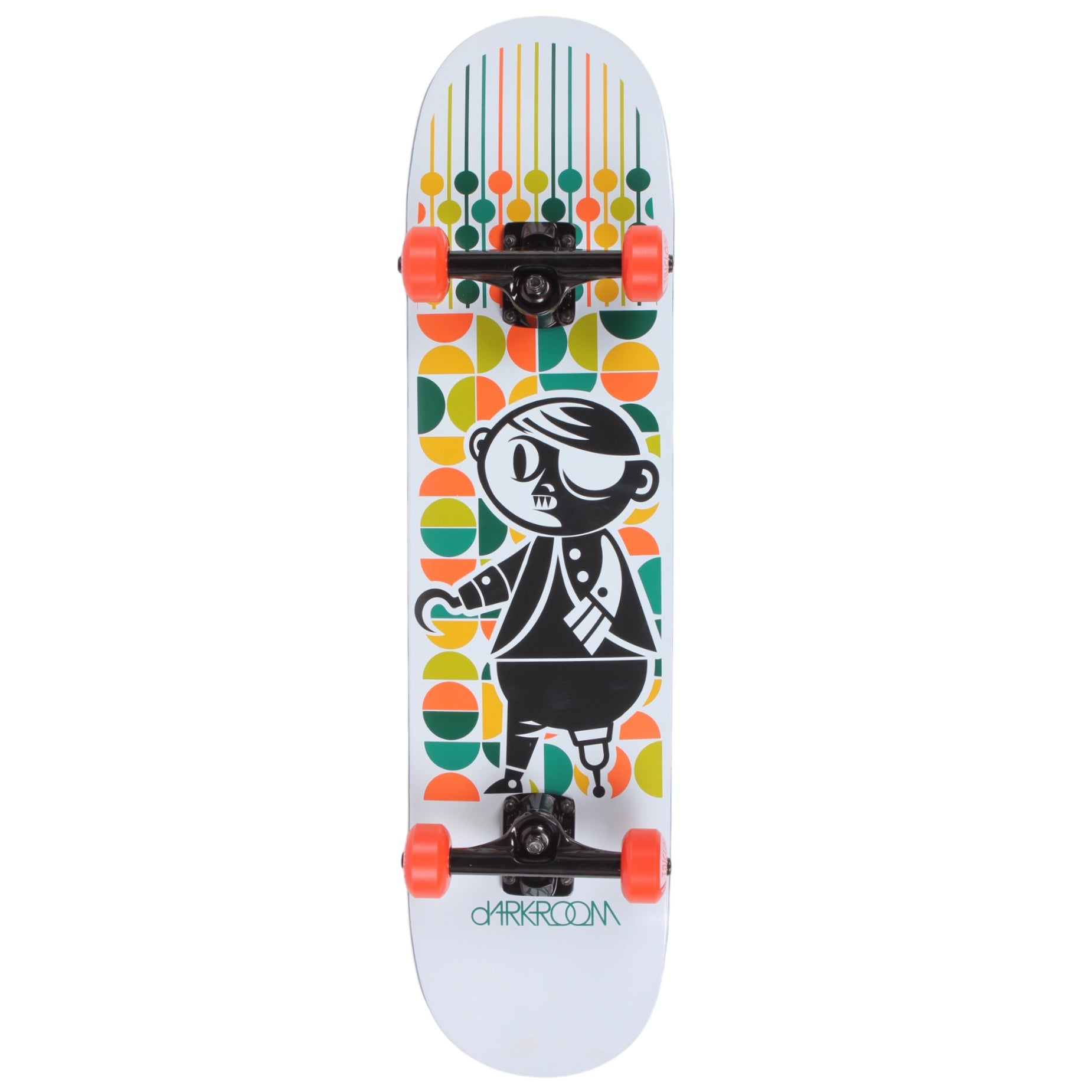 Darkroom The Hook Hybrid Complete Skateboard 7.75""
