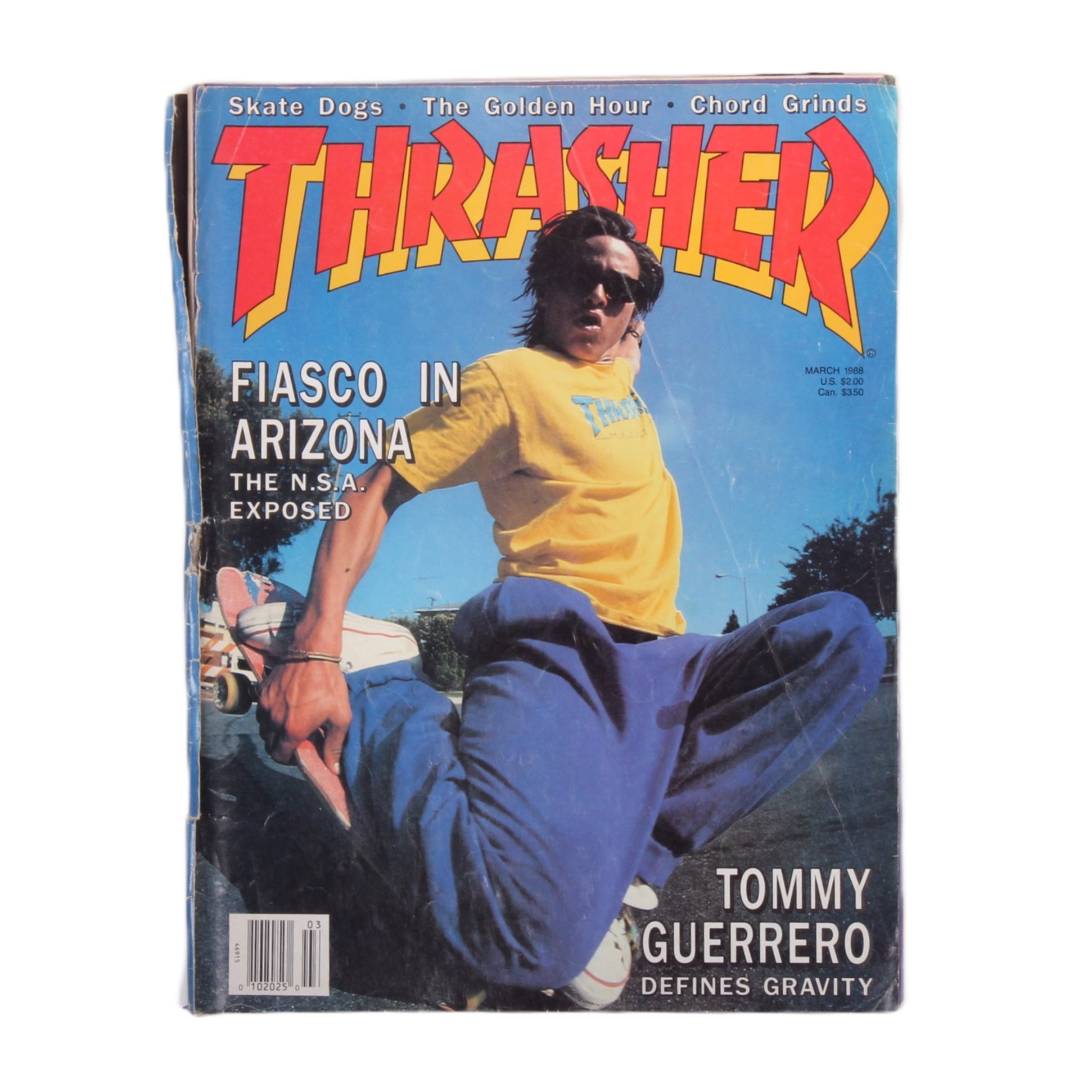 Overripe Thrasher Magazine March 1988
