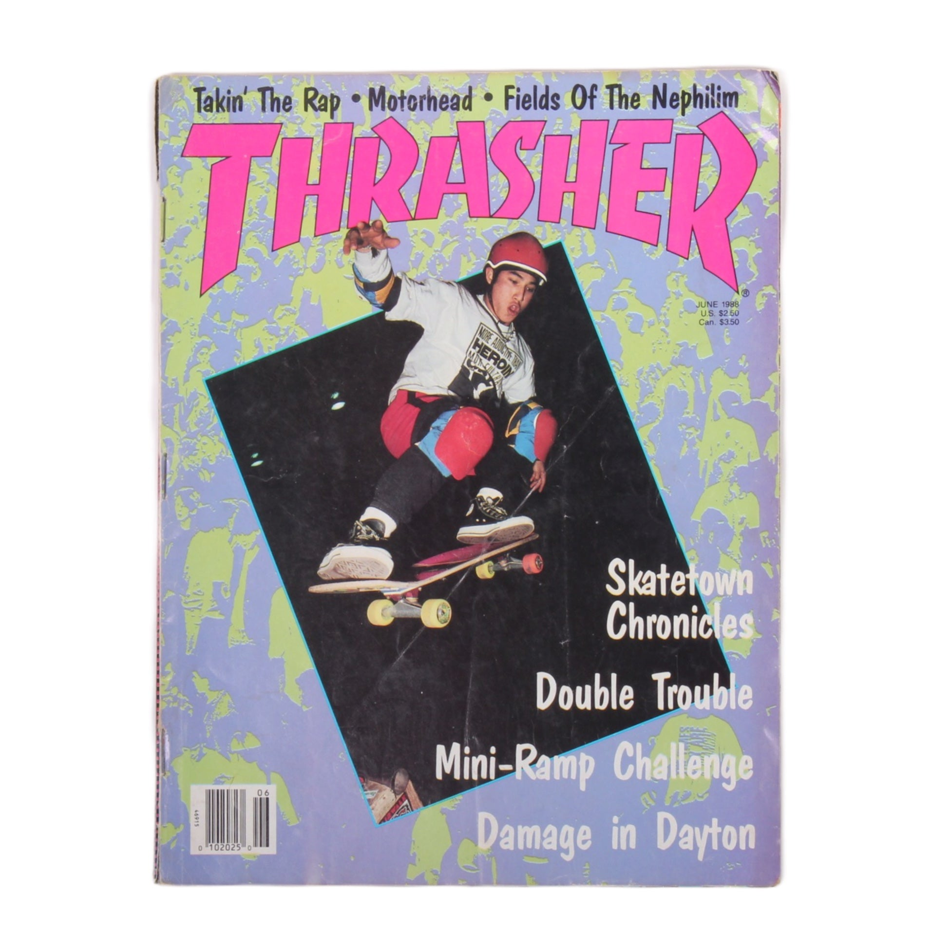Overripe Thrasher Magazine June 1988