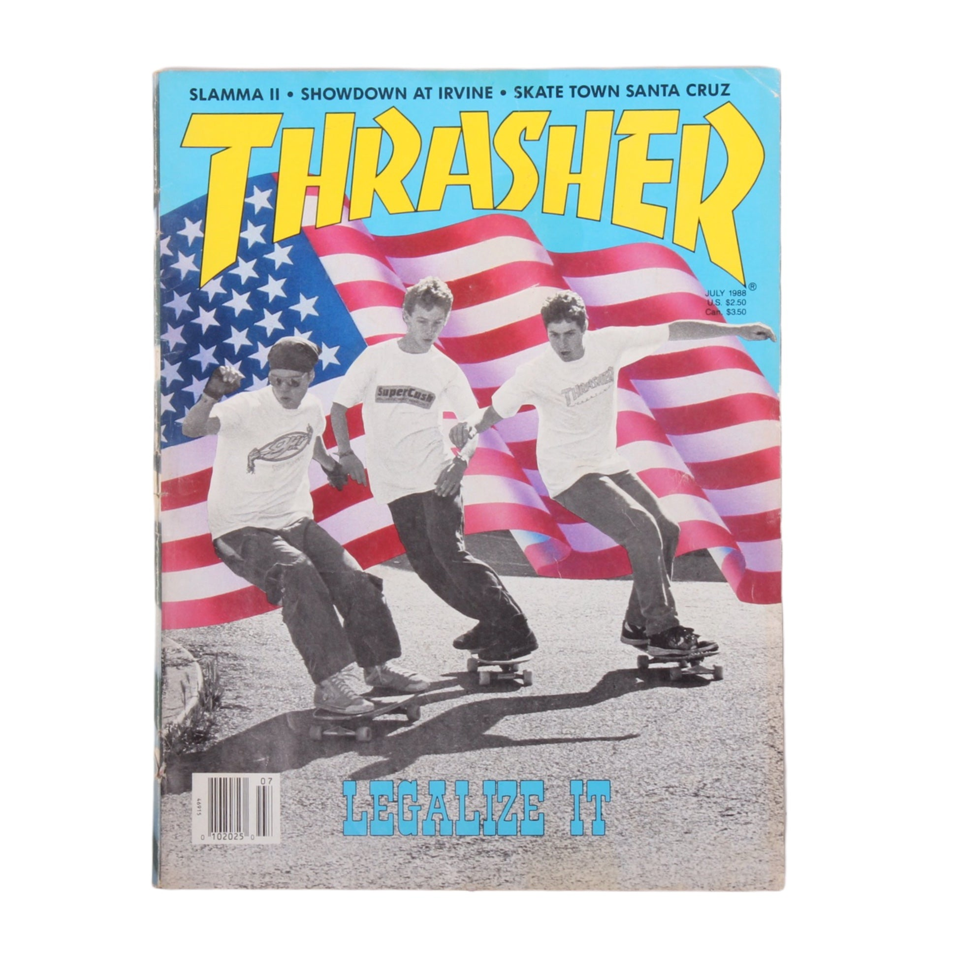 Overripe Thrasher Magazine July 1988