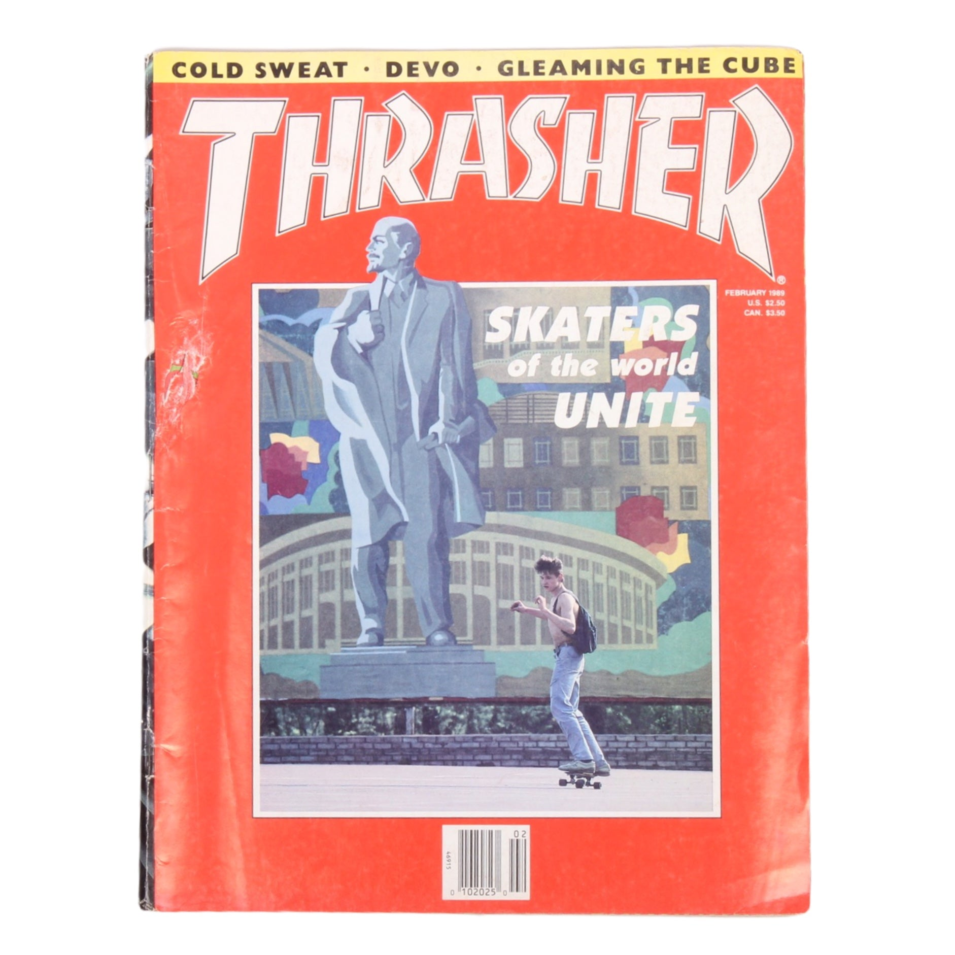 Overripe Thrasher Magazine Feb 1989