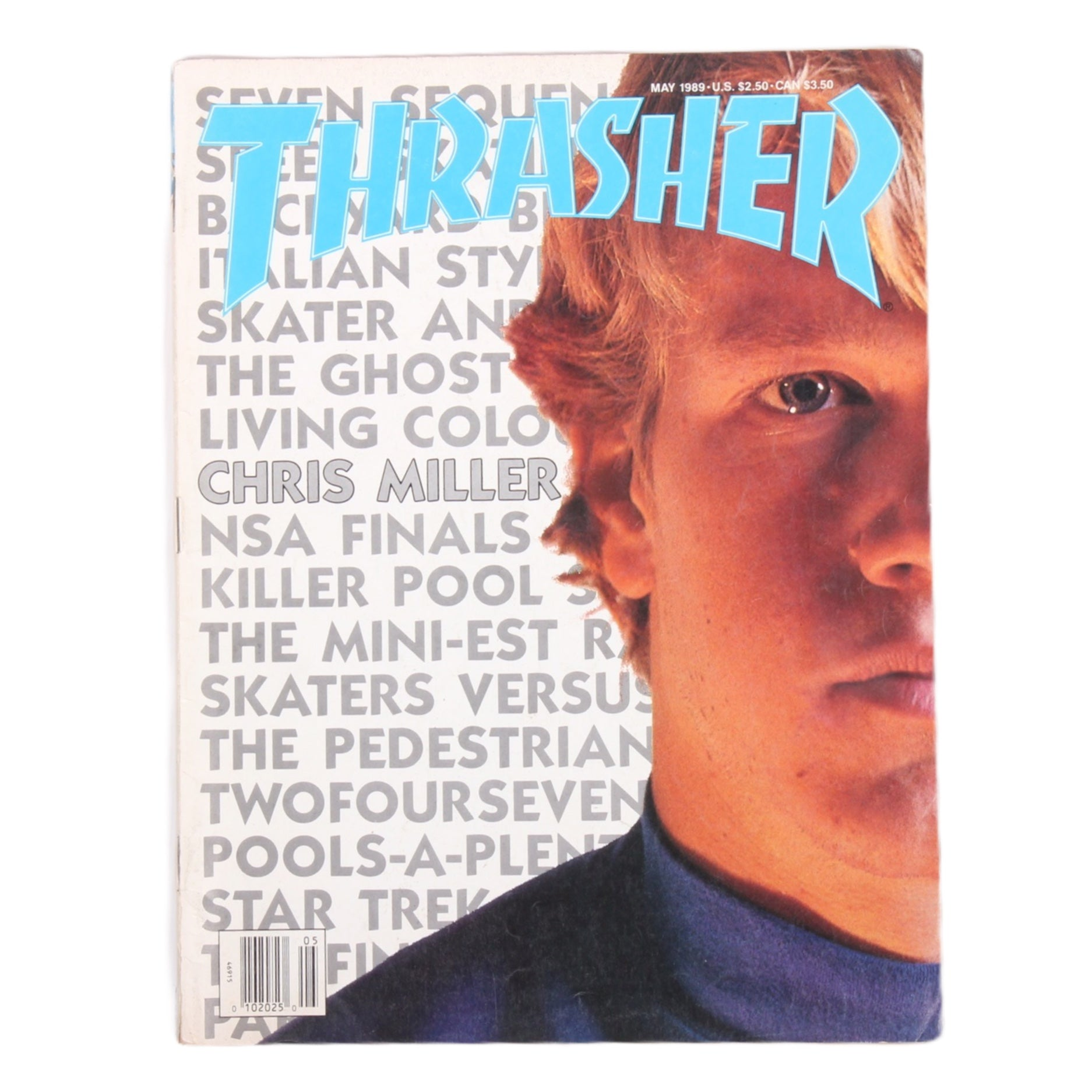 Overripe Thrasher Magazine May 1989