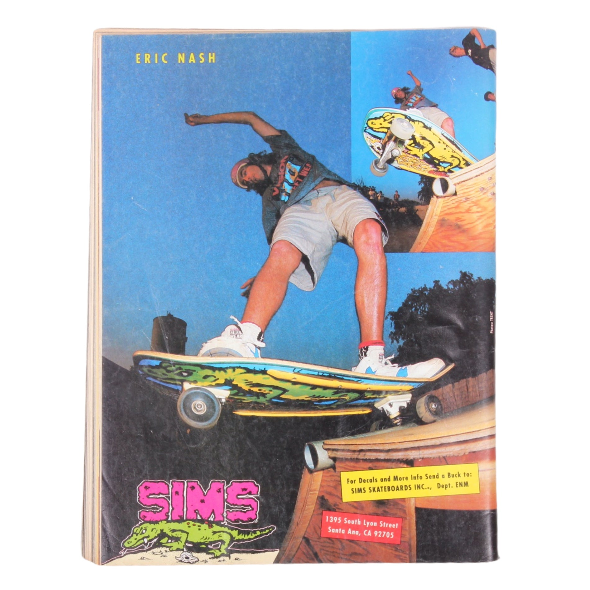 Overripe Thrasher Magazine August 1989