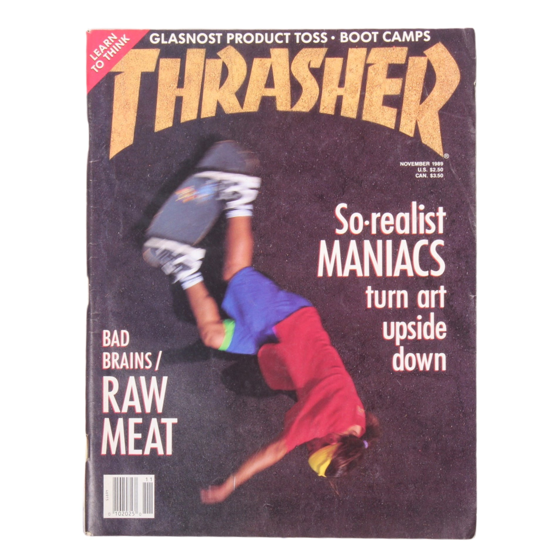 Overripe Thrasher Magazine Nov 1989