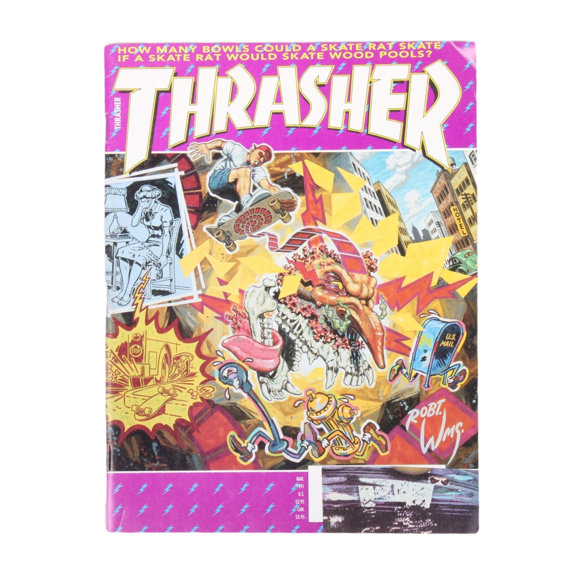 Overripe Thrasher Magazine March 1991