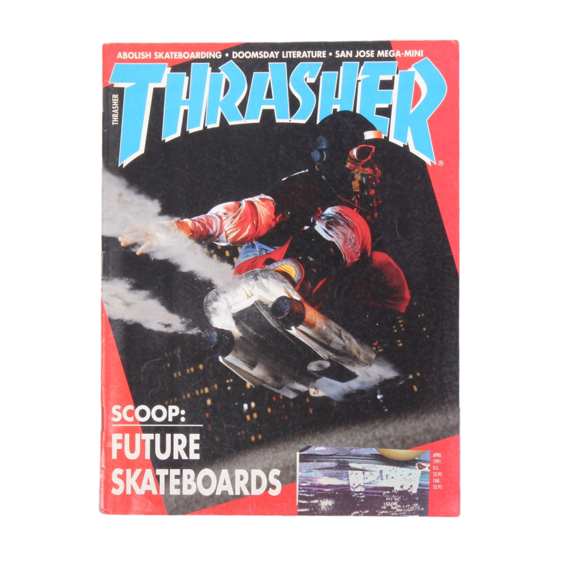 Overripe Thrasher Magazine April 1991