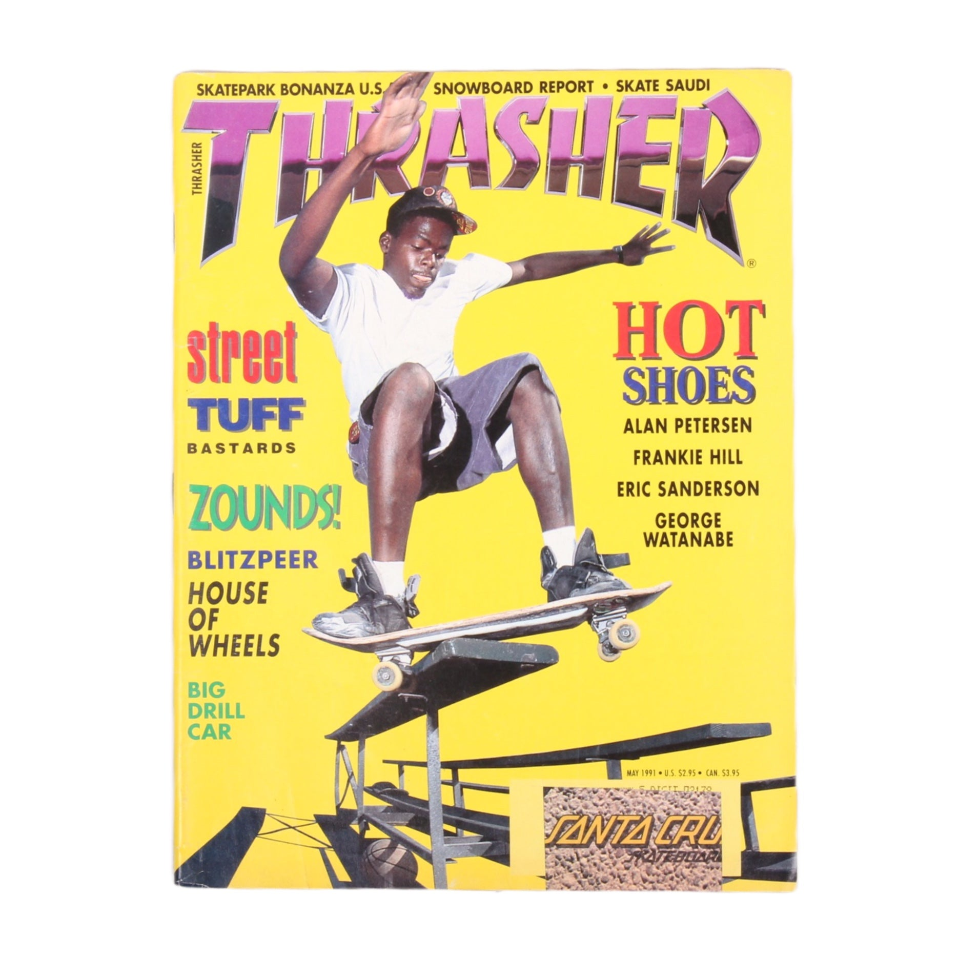 Overripe Thrasher Magazine May 1991