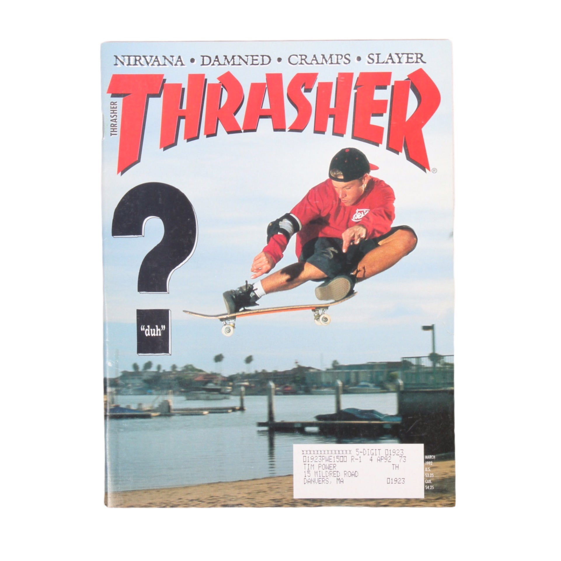 Overripe Thrasher Magazine March 1992
