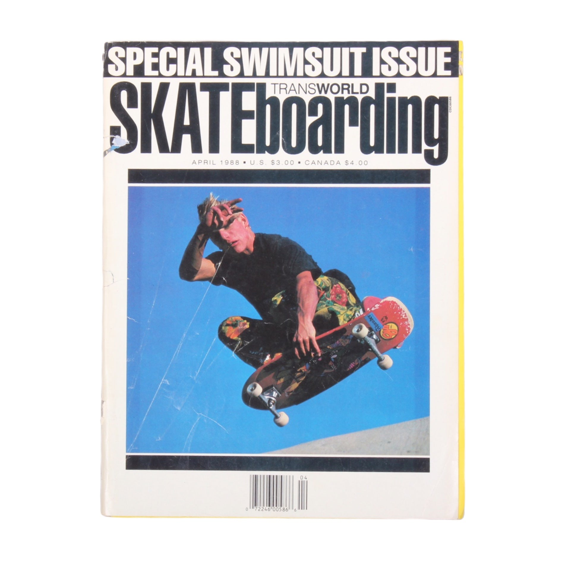 Overripe Transworld Skateboarding Magazine TWS April 1988