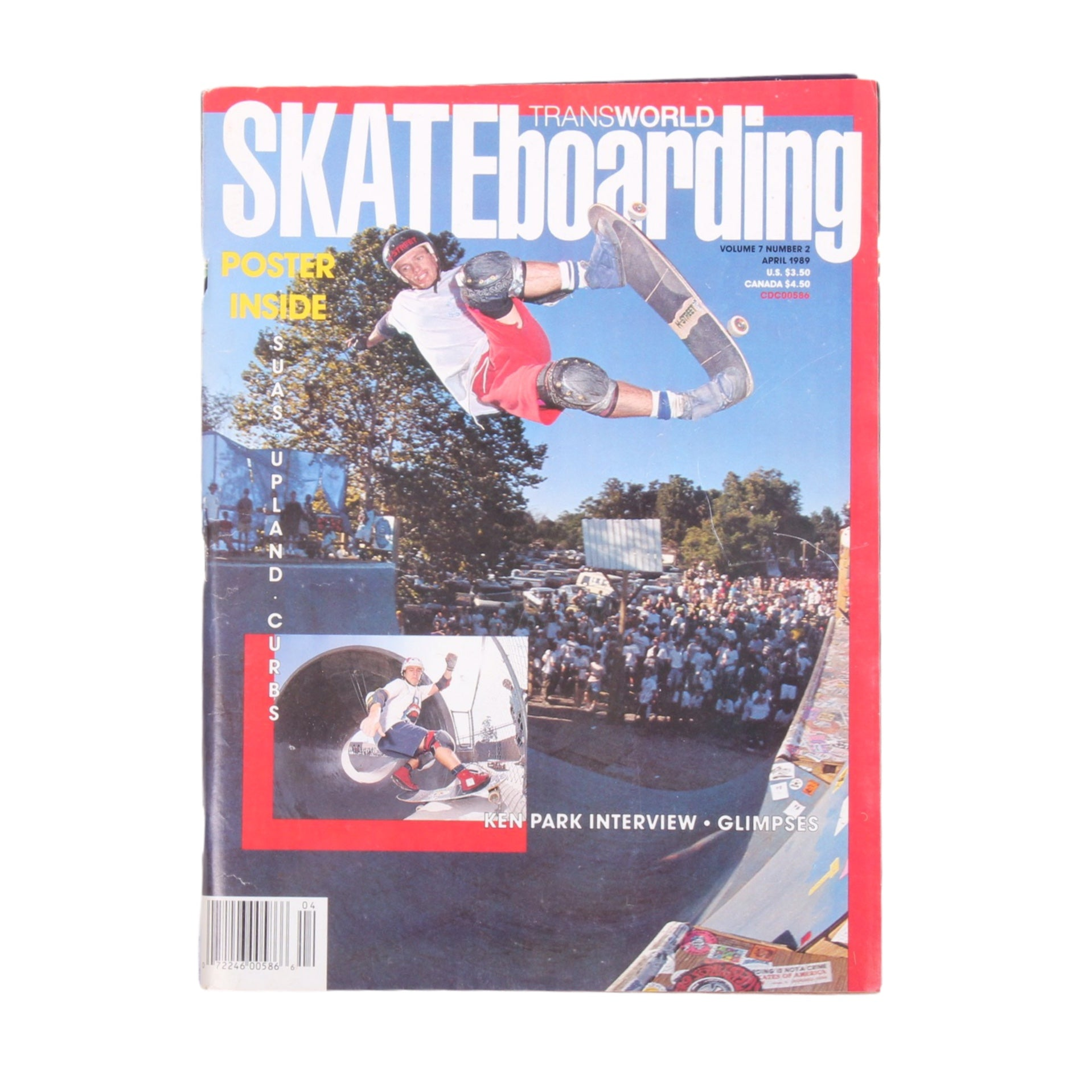Overripe Transworld Skateboarding Magazine TWS April 1989