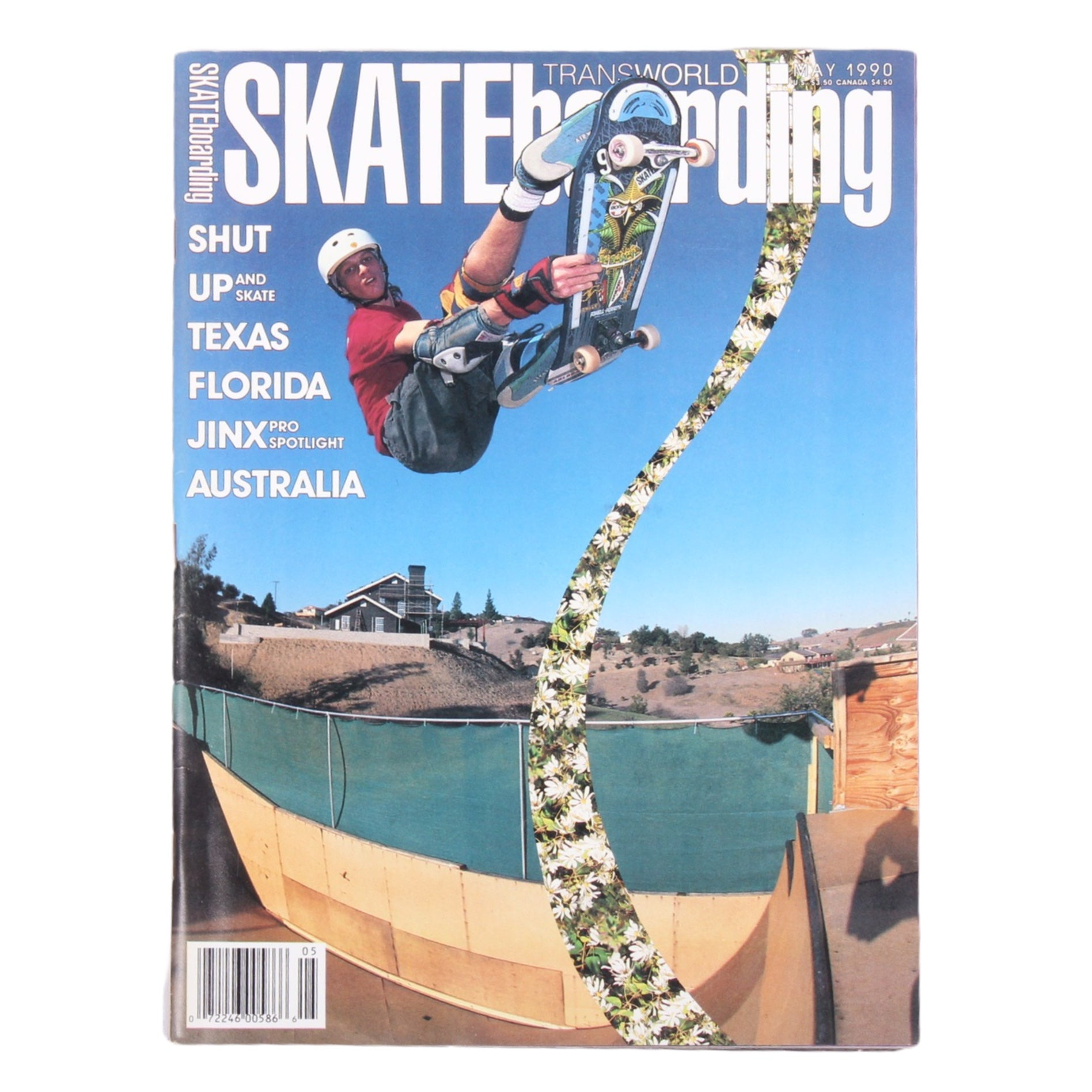 Overripe Transworld Skateboarding Magazine TWS May 1990