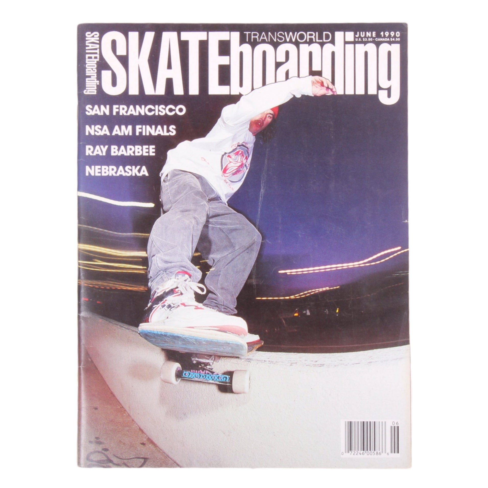 Overripe Transworld Skateboarding Magazine TWS June 1990